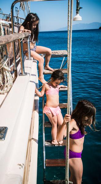 Swimming the Aegean Sea